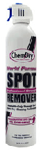 Spray can spot remover