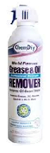 chemdry grease oil remover can