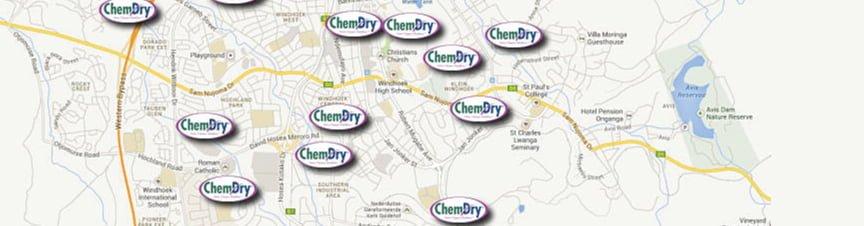 chemdry map
